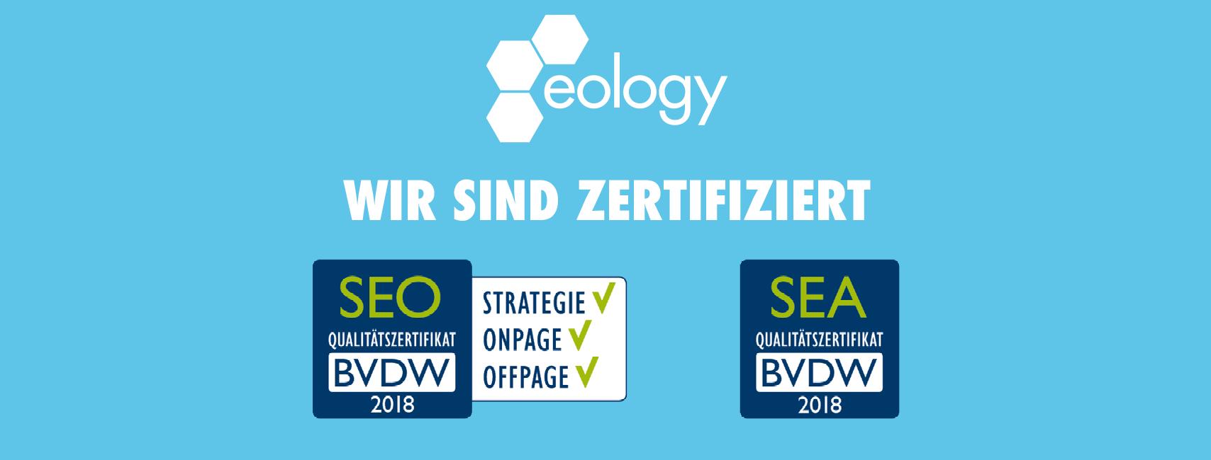 BVDW-Zertifikate 2018