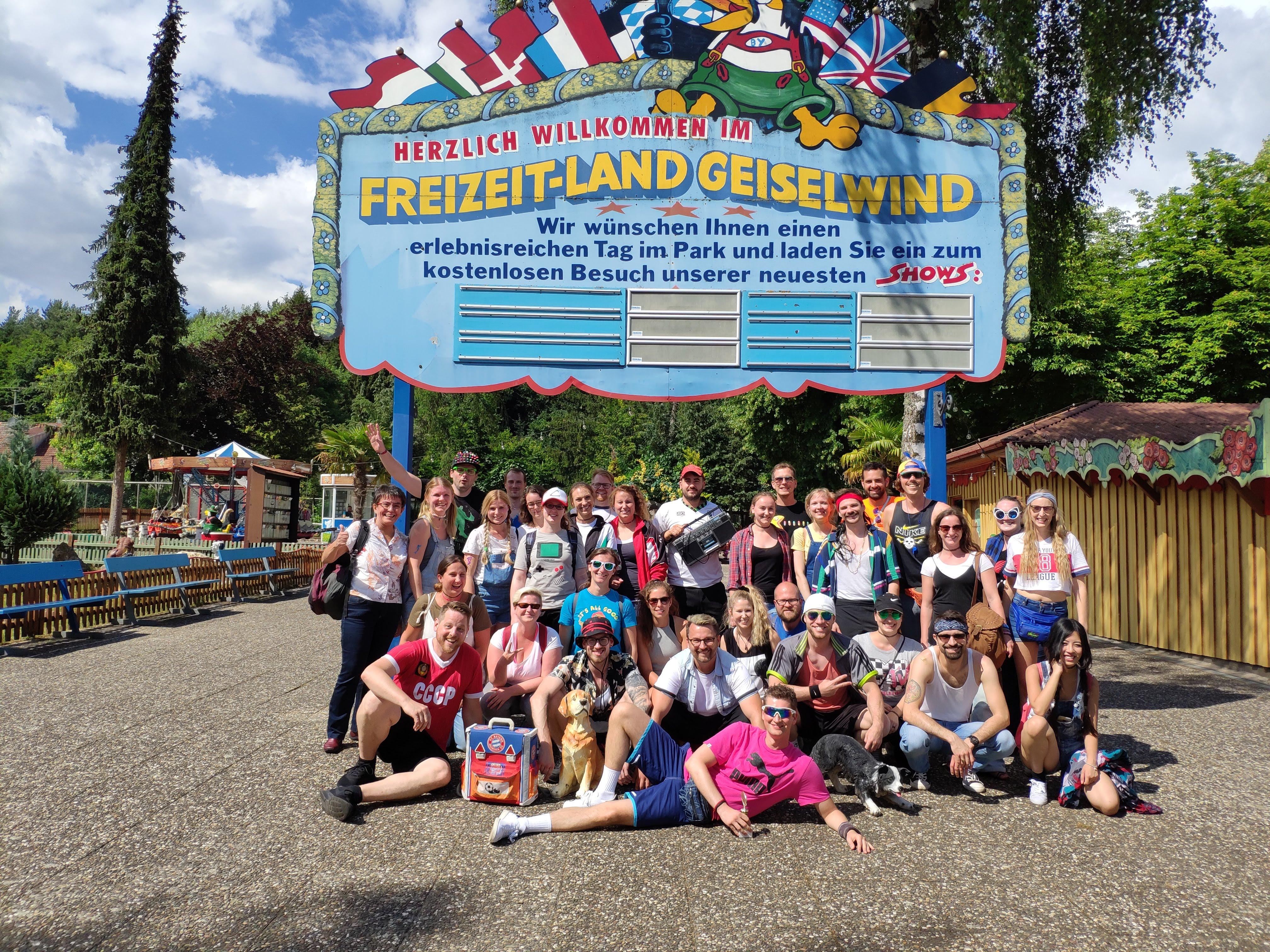 eology Team im Freizeitland Geiselwind