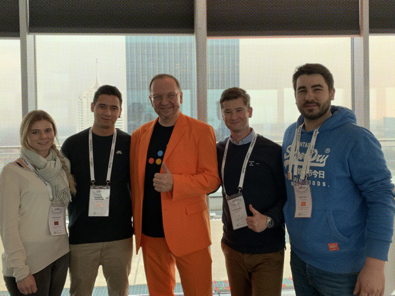 eology visits Vienna – The only Link Conference in the World – for Charity