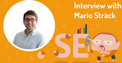 Abbildung 1: SEO Podcast mit Mario Strack
