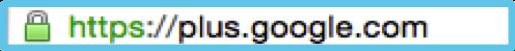 Beispiele für unterschiedliche Darstellungen der HTTPS-Verbindung