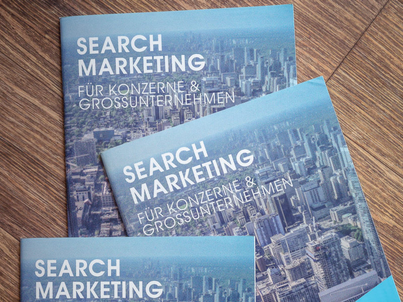 Search Marketing für Konzerne & Großunternehmen