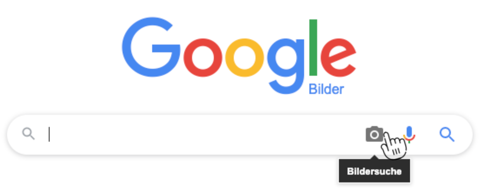 Die umgekehrte Bildersuche auf Google