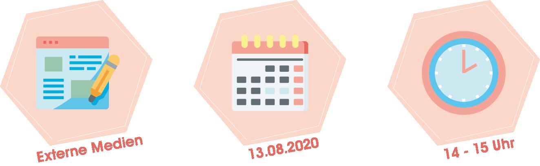 Webinar Zielgruppe auf externen Medien ansprechen am 13.08.2020