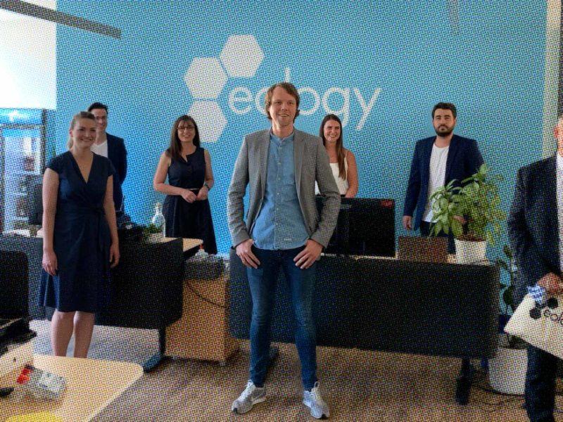 Judith Gerlach, Bayerische Staatsministerin für Digitales,  besucht eology