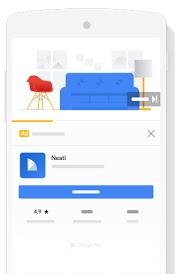 Auslieferung von App-Kampagnen über Discover in der Google Suche, © Google